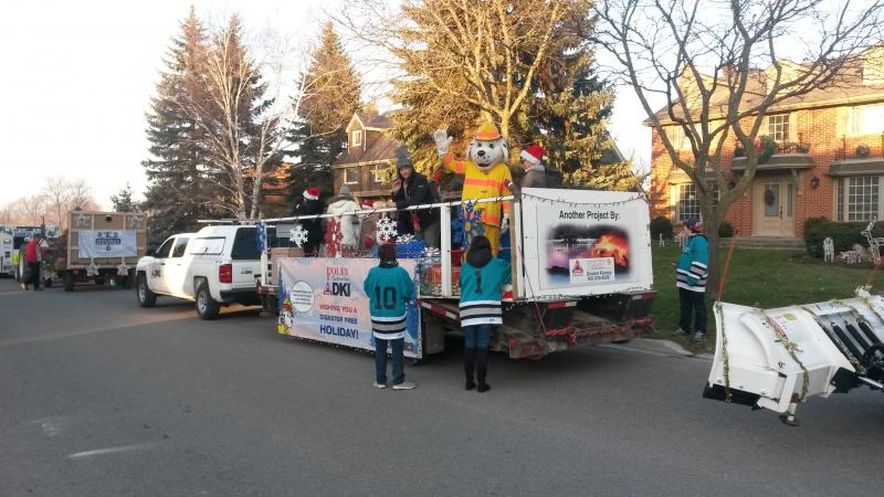 Foley Restoration DKI in the Santa Parade